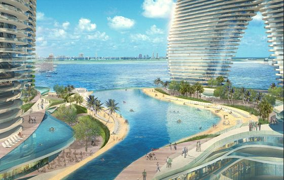 Resorts World Miami Pool