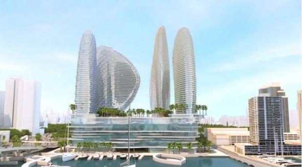 Resorts World Miami building 1