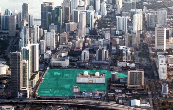 Miami Worldcenter Location