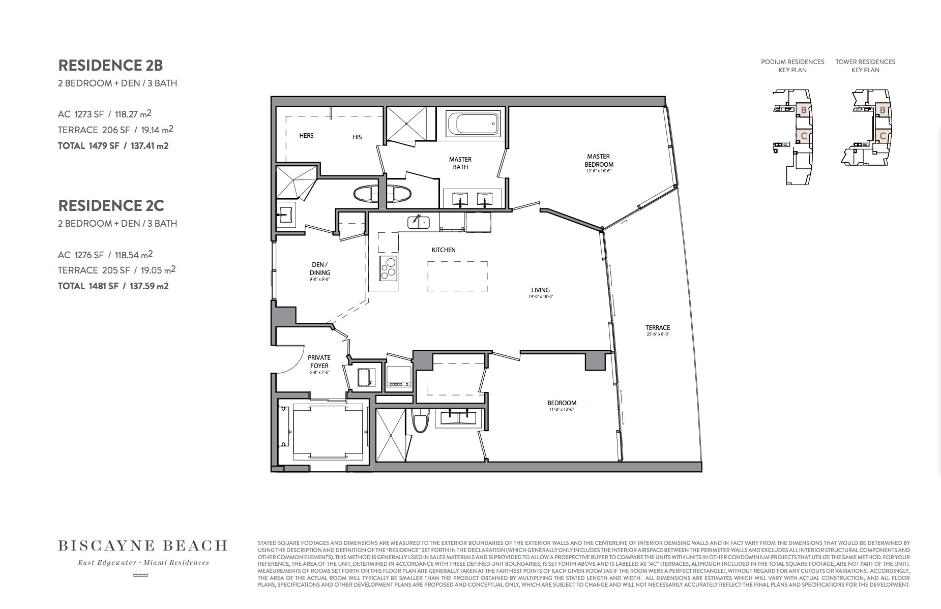 Biscayne beach condos 701 ne 29 st investinmiami 03 line 2b 1273 sq ft east view direct bay jameslax Choice Image