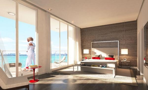 Crimson Miami Bedroom