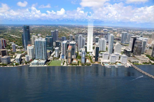 1010 Brickell Building Location