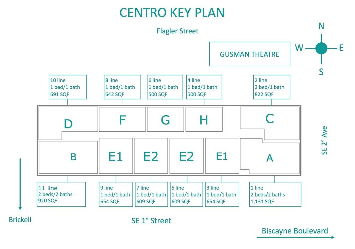Centro Key Plan Investinmiami Com
