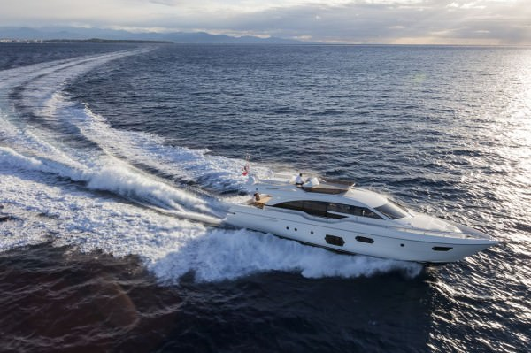 "69 feet long and 18' 2"" wide - presents two available interior layouts, with three or four cabins"