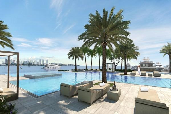 Marina Palms Penthouse Pool