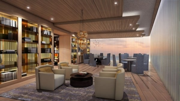 Prive Dining Library
