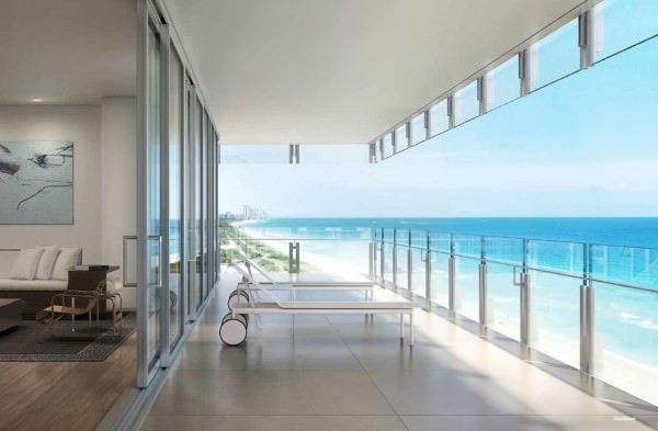 Surf Club Hotel and Residences Balcony