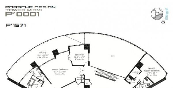 Porsche Design Tower Penthouse Floor Plans