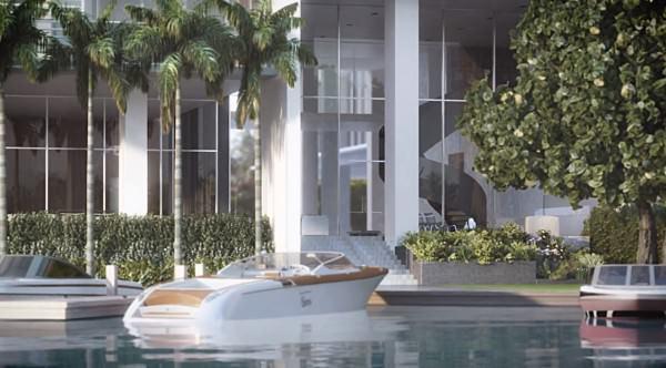Ritz Carlton Miami Beach marina
