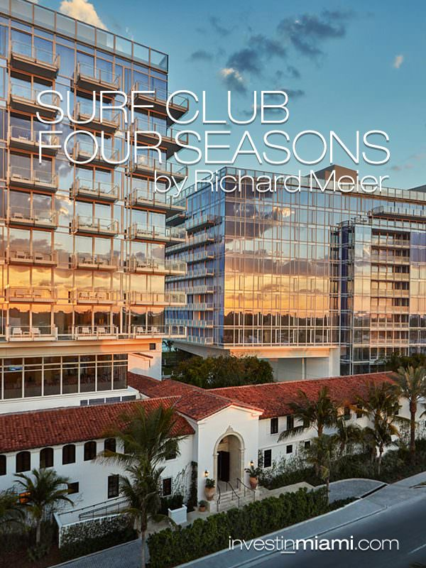 Surf Club Four Seasons incredible 880 ft on the ocean