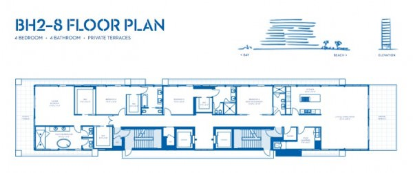 Beach House 8 2-8 Key plan