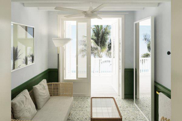 Surf Club Four Seasons Residences Cabana 2
