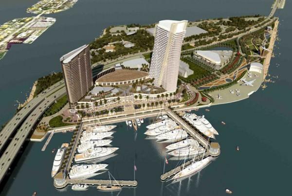 Watson-Island-Island-Gardens-Miami Super yacht Marina