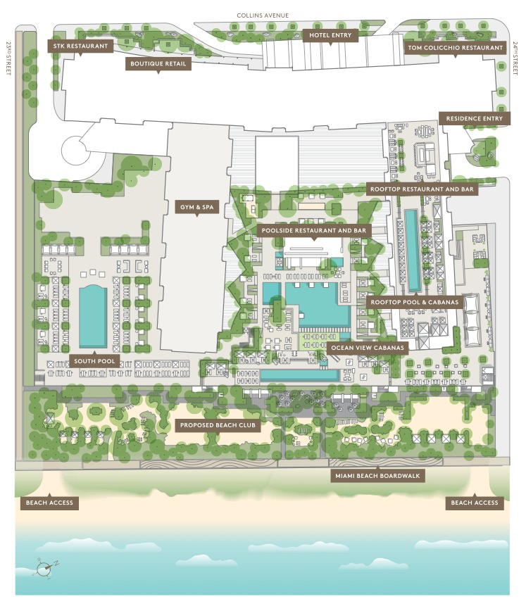 1 Hotel and Homes Miami Beach Amenities