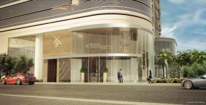 Brickell Flatiron Facade