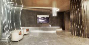 Brickell Flatiron Reception Desk