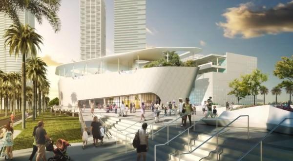 Miami Museum of Science building street 2