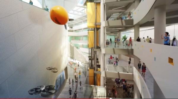 Miami Museum of Science interior