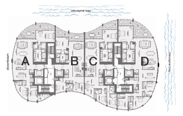 One Park Grove Key Plan