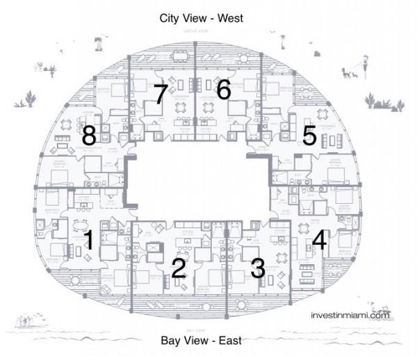 Park Grove Club Key plan