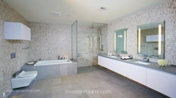 Brickell City Centre Bathroom White