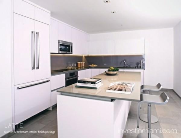 Reach Brickell City Centre Kitchen White