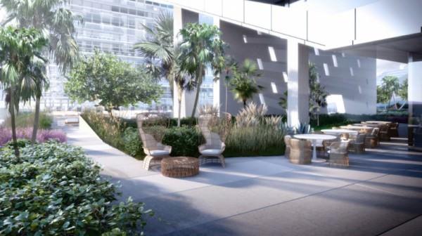 Reach Brickell City Centre amenities deck