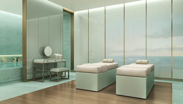 Armani Casa Spa Treatment Room