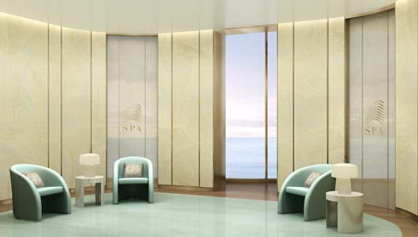 Armani Casa Spa Lounge
