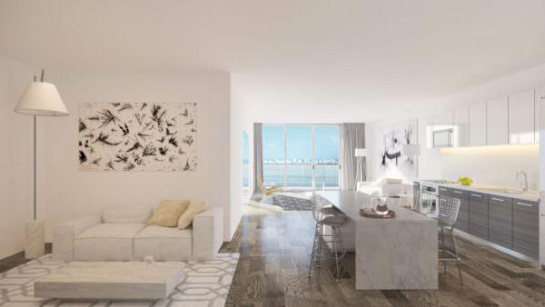 Hyde Midtown Den Living room
