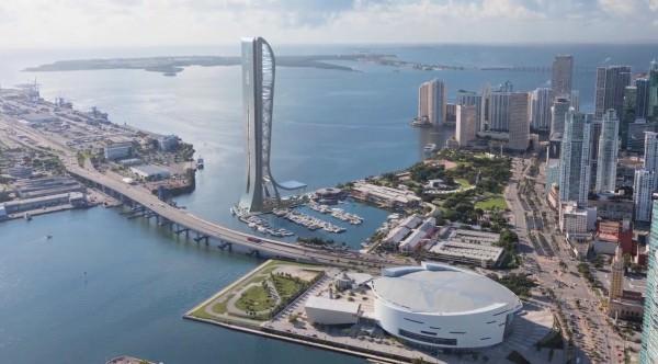 Skyrise Miami Aerial 2