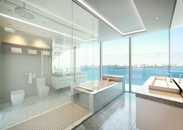 Aria Miami Bathroom