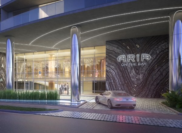 Aria Miami Entrance