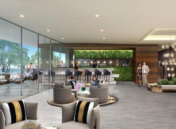 Aria Miami Indoor and Outdoor Bar