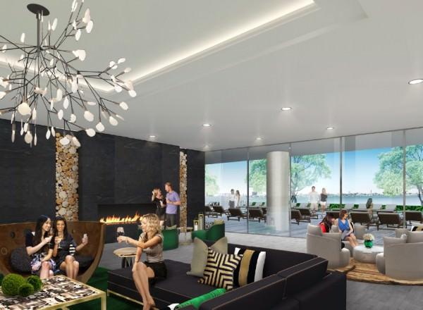 Aria Miami Social Area