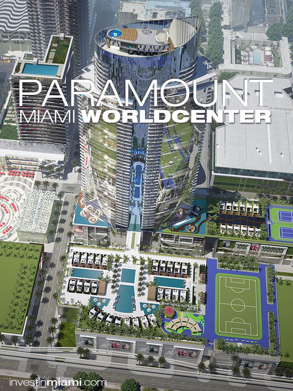 Paramount Miami Worldcenter Art