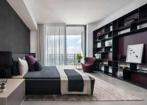 Rise Brickell City Centre Bedroom