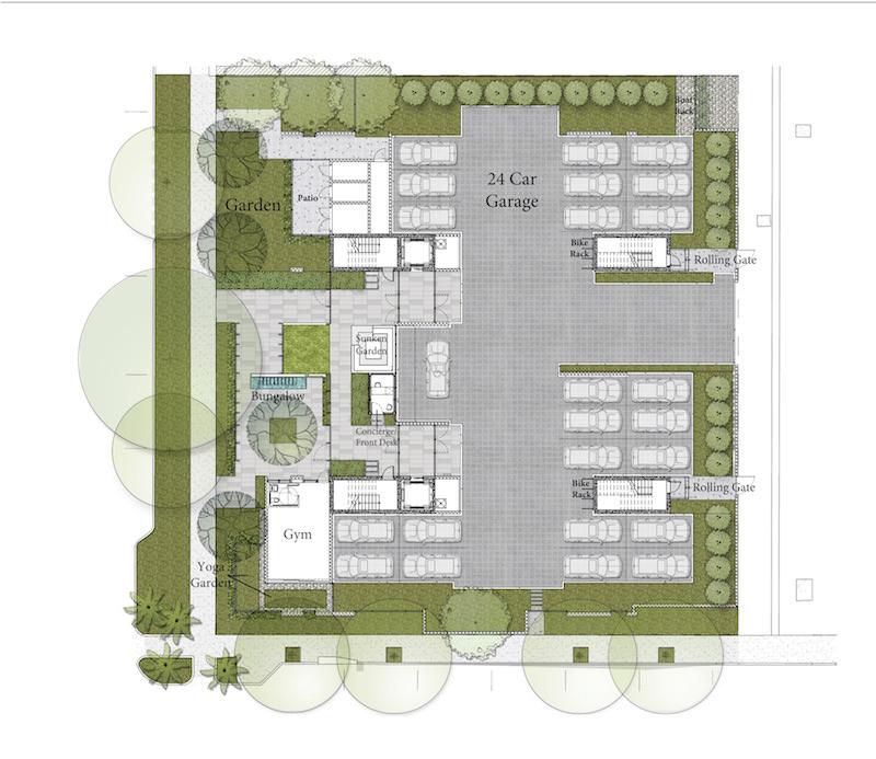 Louver House Ground Floor Plan