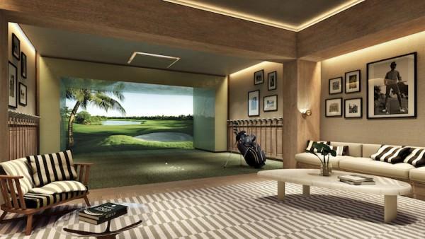 Auberge Fort Lauderdale Golf Simulator