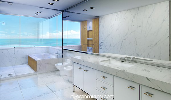 Fendi Residences Bathroom