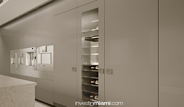 Fendi Residences Kitchen
