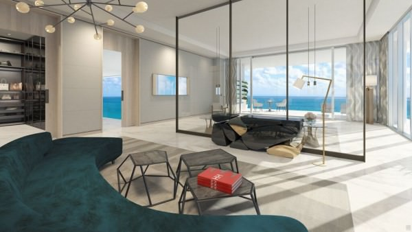 LAtelier Miami Beach Penthouse Master Bedroom 1