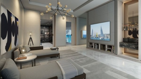 LAtelier Miami Beach Penthouse Master Bedroom 3
