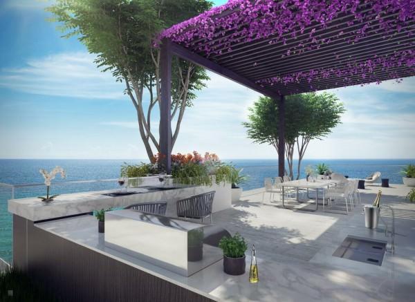LAtelier Miami Beach Penthouse Summer Kitchen