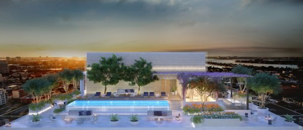 LAtelier Miami Beach Penthouse Terrace 2