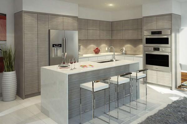 One Bay kitchen