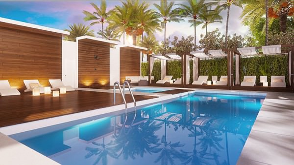 One Bay pool