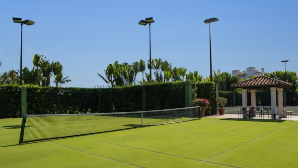 Pallazo del Sol Fisher Island Tennis Court