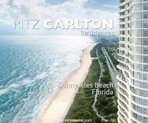 Visit the Ritz Carlton Sunny Isles