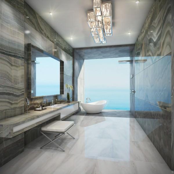 The Estates Acqualina Bathroom